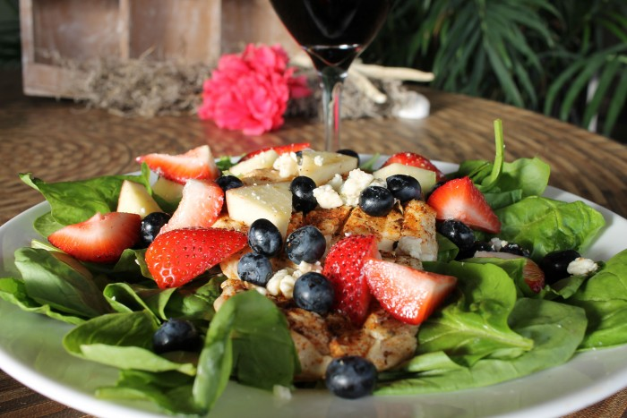 The Berry Beach Salad