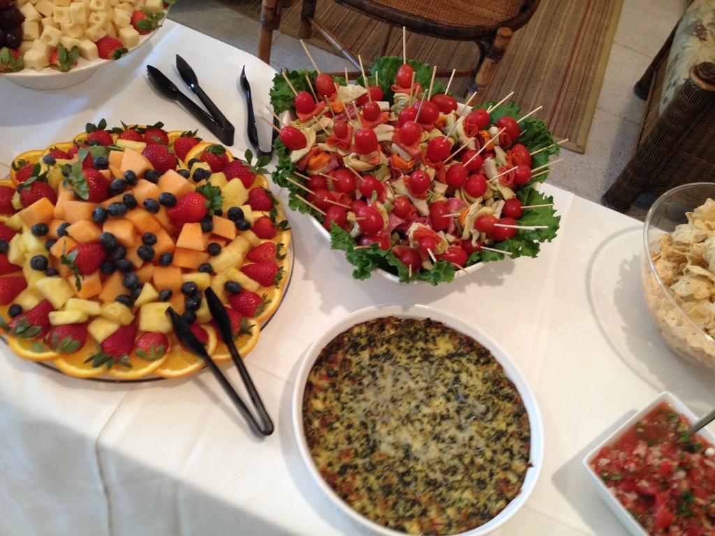 Catering Fruit, Vegetables and Cheese