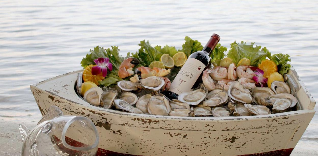 Catering Example: Oysters in a small boat